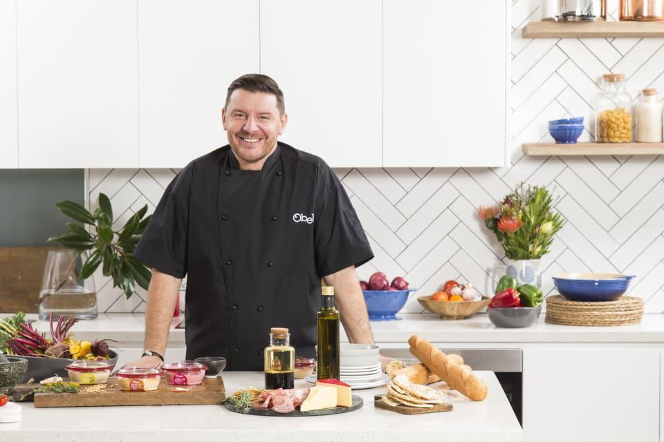 corporate headshot shoot chef manu