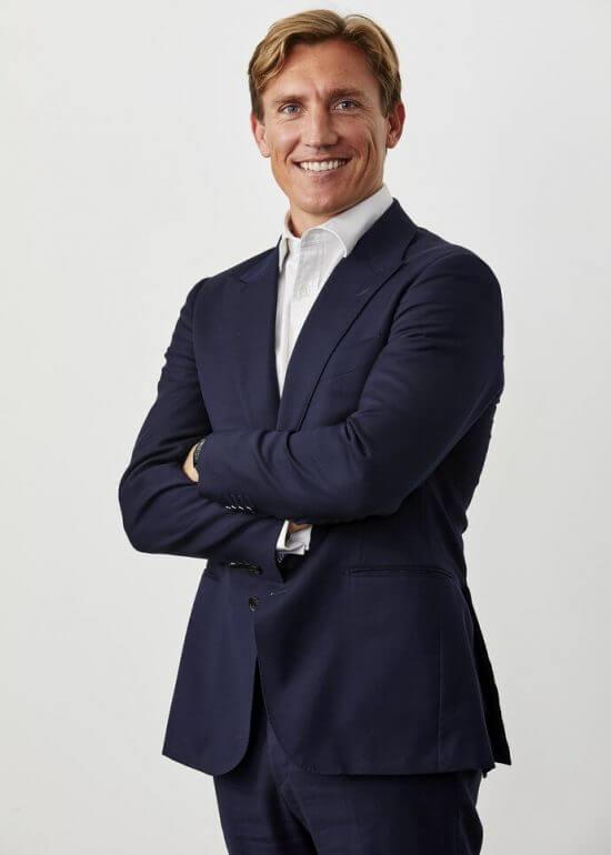 james profile photograph